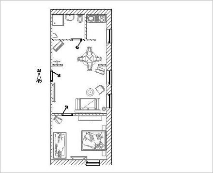 Wohnung F2